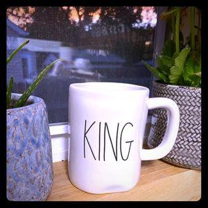"""Rae Dunn """"King"""" mug"""